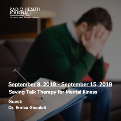 Saving Talk Therapy for Mental Illness