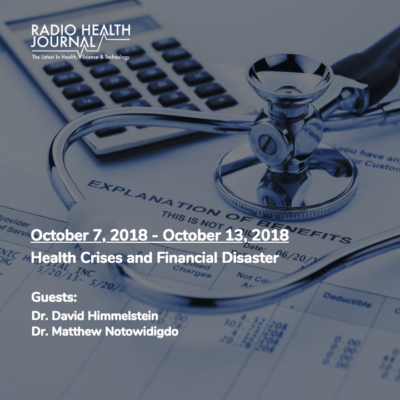 Health Crises and Financial Disaster