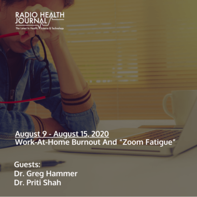 """Work-At-Home Burnout and """"Zoom Fatigue"""""""